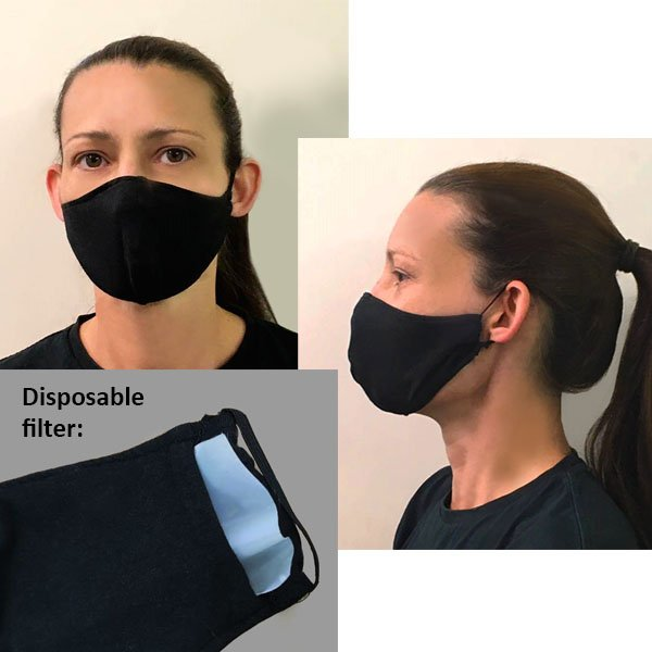 Eco-friendly facemask