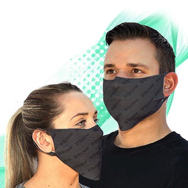 Facemasks with built-in anti-viral protection