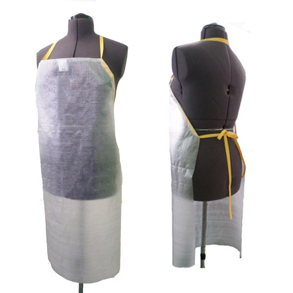 Clear apron